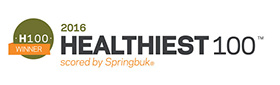 2016 Healthiest 100 scored by Springbuk