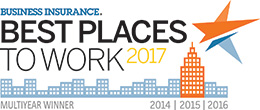 Business Insurance: Best Places to Work 2014 to 2017